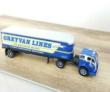 1996 First Gear 1953 White 3000 Tractor Trailer Greyvan Lines Inc. Truck 1:34