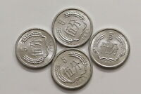 CHINA 5 FEN - 4 OLD COINS LOT IN HIGH GRADE B15 SWW19