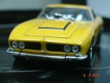 WOW EXTREMELY RARE Iso Grifo 7.0 16V 406HP 1968 Yellow 1:43 Minichamps-Gitf Box