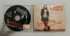 CD BIAGIO ANTONACCI 5 REMIX NON PARLI MAI MERCURY 574 789-2