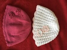 Next Baby Girl Hats 3-6 Months