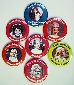 Dark Shadows Magnet Set: The Incarnations Of Angelique