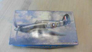 Rare Hasegawa 1/48 Hawker Hurricane Mk.IIC complete #09051