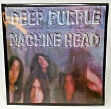 "Deep Purple ""Machine Head"" gatefold sleeve LP with lyric poster"