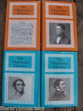THE GLADSTONE DIARIES SET OF 4 EDITED BY FOOT VOLUME ONE TWO THREE FOUR 1 2 3 HC