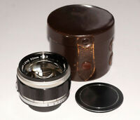 Canon 50mm 1.2 lens for Leica Canon L39 M39 screw Mount for rangefinders EXC!