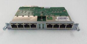 CISCO EHWIC-D-8ESG-P Card Enhanced WAN Interface Card - 1Gbps PoE 10/100/1000