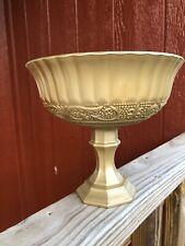 Gold Wedding Compote, Gold Pedestal Vases, Wedding Centerpieces