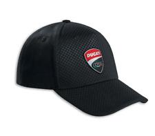 DUCATI CORSE TOTAL BLACK CAP 987695229