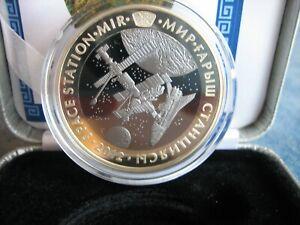 500 Tenge Kasachstan Space 2012 MIR 26,8g Tantal 14,6g Silber 925