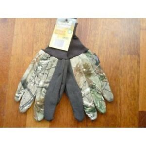 REALTREE THINSULATE JERSEY LINED GLOVES