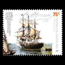 Argentina 2007 - Death Of Admiral William Marrone Nave - Sc 2425 Nuovo senza