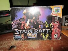 Starcraft 64 Original Rare Game Cartridge, Box and Manual N64 2000 Nintendo