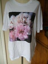 Helena Chritensen&H&M Floral Print front T shirt/Top.BNWT.Hippy boho0,Festival.