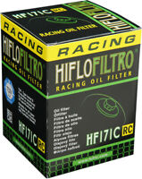 HifloFiltro Replacement Motorcycle Racing Oil Filter (Chrome) HF171CRC