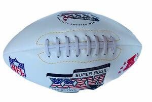 New England Patriots Tom Brady Football Super Bowl XXXVI 2002 ball champions vtg
