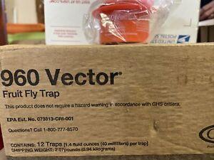 Vector 960 Fruit Fly Trap - CASE (12 traps)