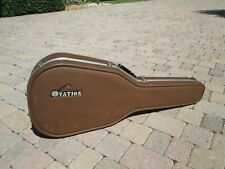 Ovation Vintage Acoustic Hard shell Case ,in Brown- Deep bowl