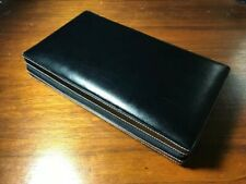 Black Genuine Leather Watch Case (12 Piece)