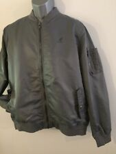 kangol bomber jacket Size XL , Grey , Full Zip, BNWT