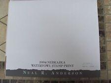 NE4  Nebraska  State Duck Print  w/ Artist Sign.stamp/stamp & folio  NE4SW15 DSS