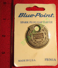 New Blue Point Spark Plug Gap Gauge FB361A - USA - Trademark of Snap On Inc.