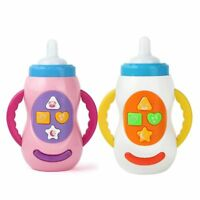 BABIES 12M+ TOY MUSICAL SOUND FEEDING BOTTLE PLAY ACTIVITY LIGHTING NURSERY TOY
