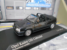 OPEL Kadett E GSI Cabriolet Cabrio black schwarz SP Minichamps PMA 1:43