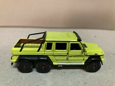 Mercedes-benz g63 amg 6x6 kinetic yellow 1:64 was car n44 1st edition