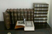 Vintage 1930s Rare set of  16 x Books Works of Charles Dickens Odham Press...