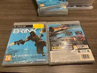 Brink PS3 IN Spanisch Versiegelt Neu Pal