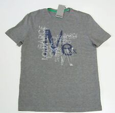 MEXX T-Shirt grau meliert Print  Gr. S *Neu mit Etikett*