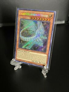 Yu-Gi-Oh! Galaxy-Eyes Afterglow Dragon LDS2-EN052 Secret Rare MINT