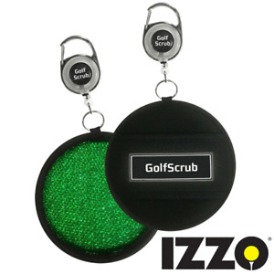 IZZO GOLF SCRUB GOLF CLUB / GOLF BALL CLEANER / STAYS HYDRATED FOR HOURS