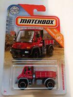 Matchbox 2019 MBX CONSTRUCTION Mercedes-Benz Unimog U300 37/100