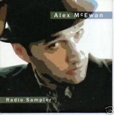 (78X) Alex McEwan, Radio sampler - DJ CD
