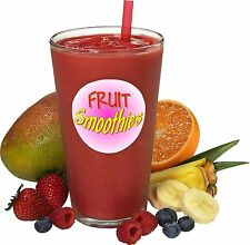 FRUIT SMOOTHIE STICKER - For Catering Vans cafes Etc.