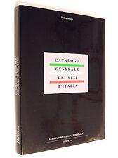 CATALOGO GENERALE DEI VINI D'ITALIA EDIZ. 1986 ASSOCIAZIONE ITALIANA SOMMELIERS