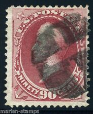 UNITED STATES SCOTT# 155 PERRY USED MUTE FANCY CANCEL AS SHOWN