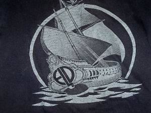 vintage rare 1977 ELP concert tour shirt PIRATES WORKS