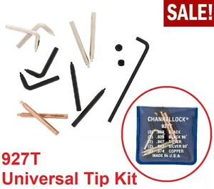 5 Tips Channel Lock Pliers Snap Ring Universal Tip Kit Heavy Duty 927T NEW USA