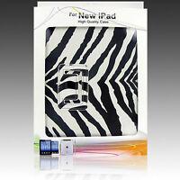 Leather PU Smart Magnetic Case Cover Folio Stand Wake Sleep For Apple iPad 2 3 4