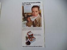 advertising Pubblicità 1970 TE' ATI