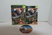 NFL Street 2 Football Microsoft Xbox 2004 Game CIB Complete Tested Fast Shipping