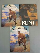 Klimt by Maria Costantino N.C. Wyatt by Kate Jennings Hardback Books Lot of 3