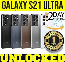 SAMSUNG GALAXY S21 ULTRA 5G G998U1 128GB (FACTORY UNLOCKED) ⚫️⚪️🟤🟣 ✤SEALED✤