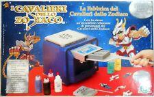 VINTAGE GIOCHI PREZIOSI FABBRICA CAVALIERI ZODIACO SAINT SEIYA ANNI '90 BOX NUOV