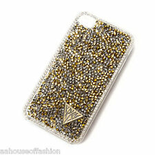 Katy Perry PRISM Rhinestone Cover for iPhone 4 & 4s Gold Sparkle & Shine NIP