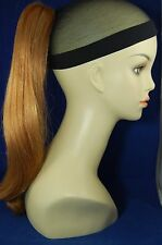 """Hairpiece Clip-on Lt Ginger #27C-- by Mona Lisa 18"""" Synthetic"""