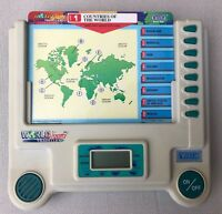 Vintage Vtech World Wizard Traveller Hand Held Electronic Game 20 Double Sided